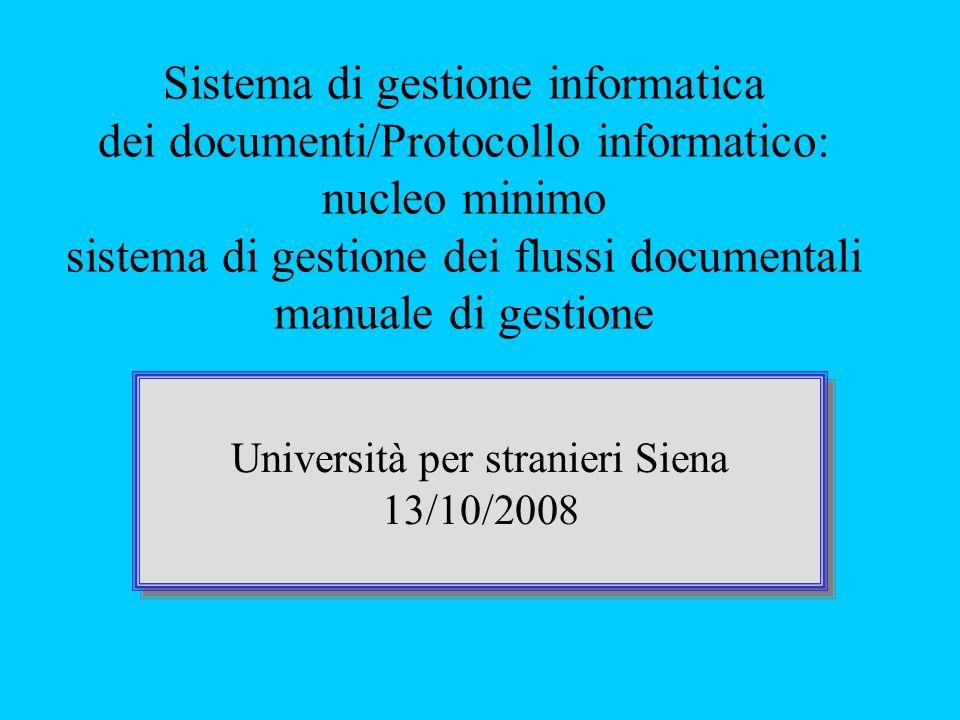 Università per stranieri Siena 13/10/2008