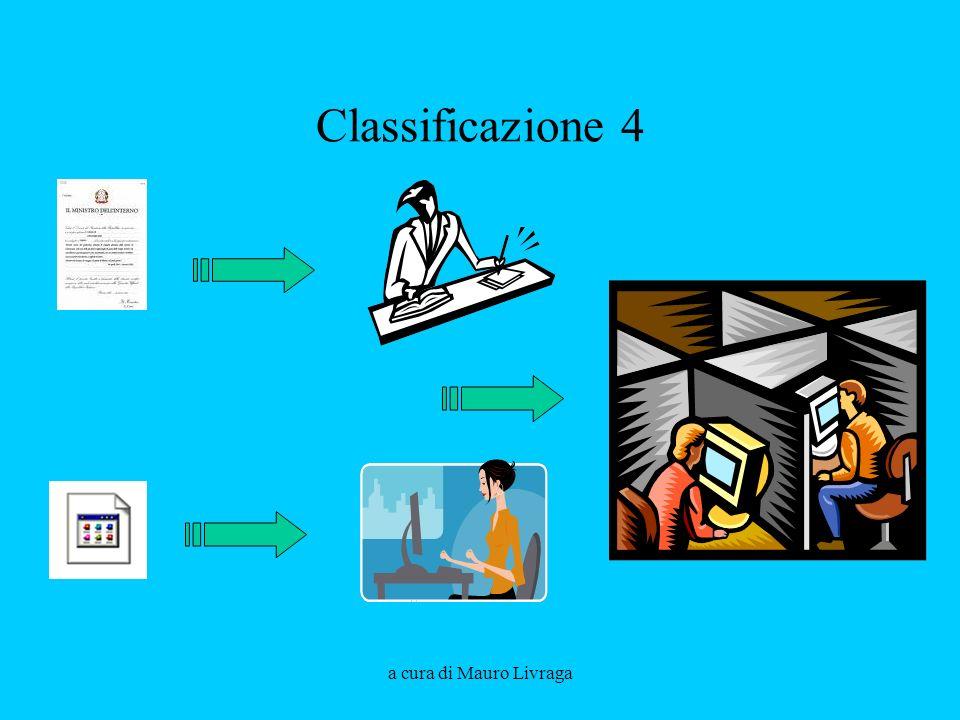 Classificazione 4 a cura di Mauro Livraga