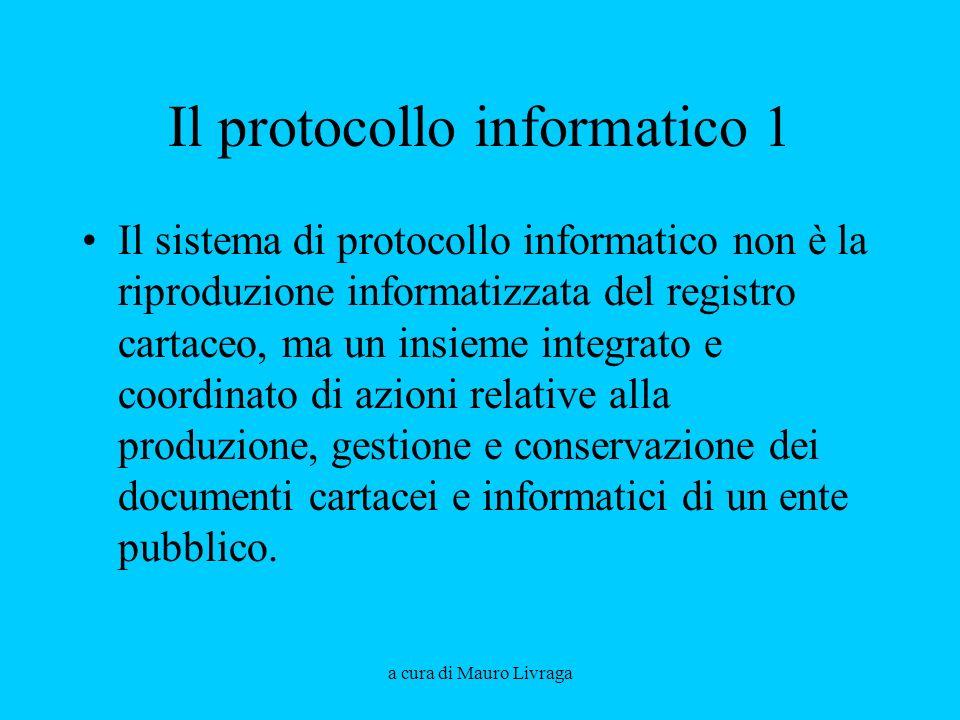 Il protocollo informatico 1