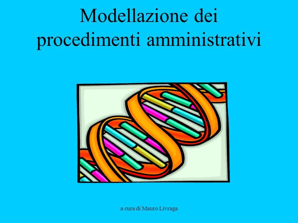 Modellazione dei procedimenti amministrativi