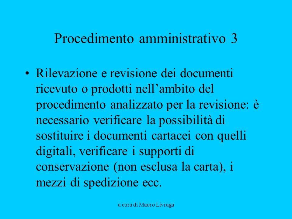Procedimento amministrativo 3