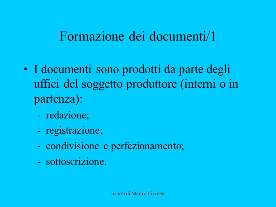 Formazione dei documenti/1