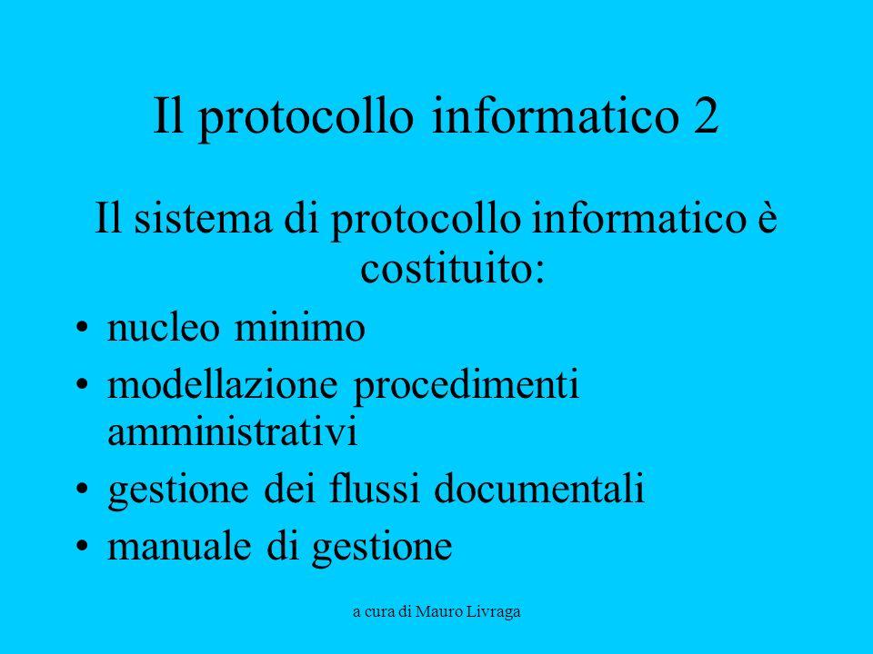 Il protocollo informatico 2