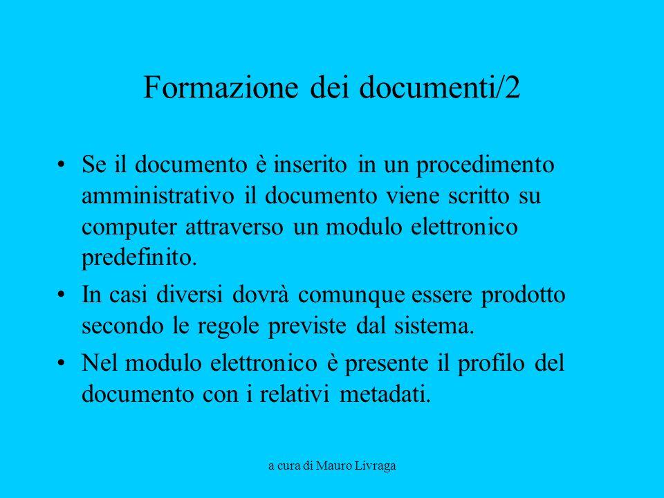 Formazione dei documenti/2