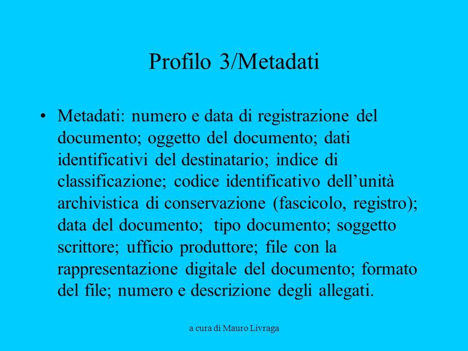 Aprile 2008 Profilo 3/Metadati.