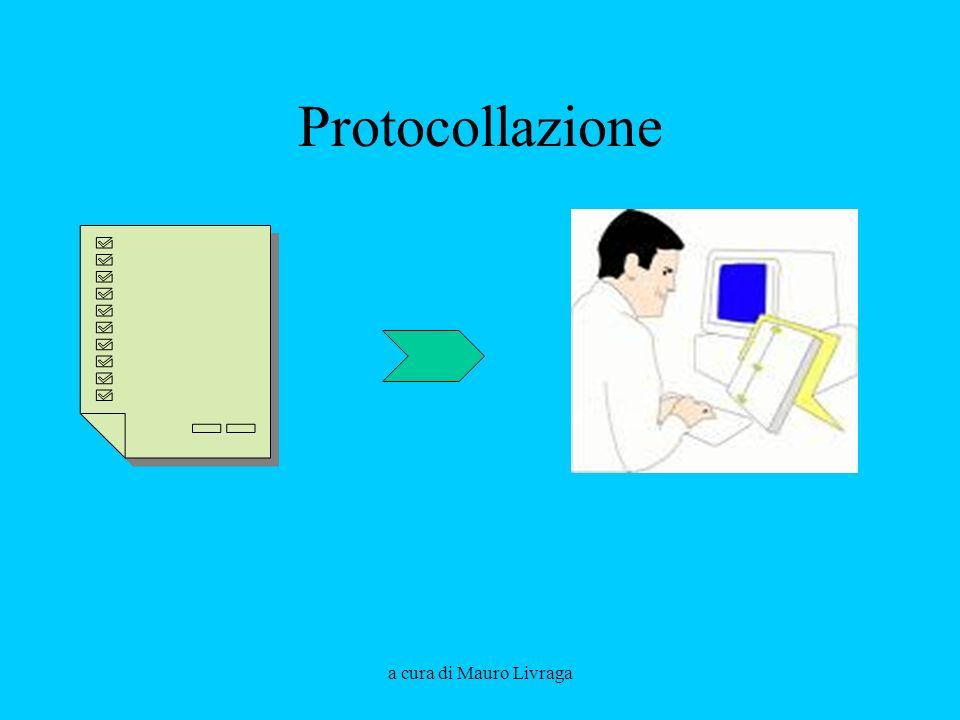 Protocollazione a cura di Mauro Livraga