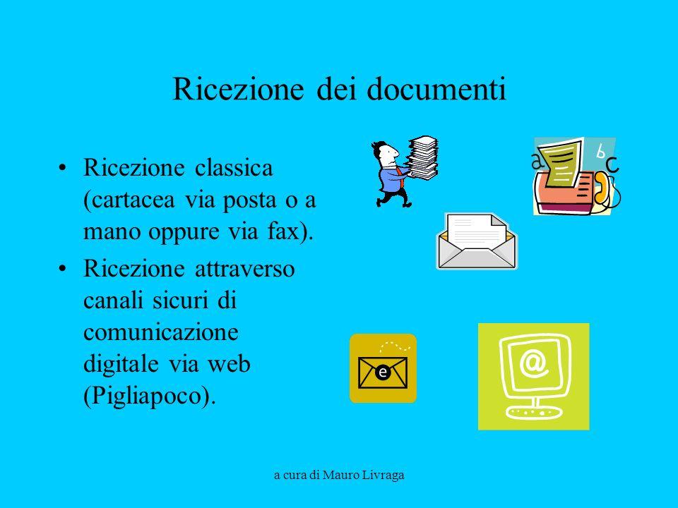 Ricezione dei documenti