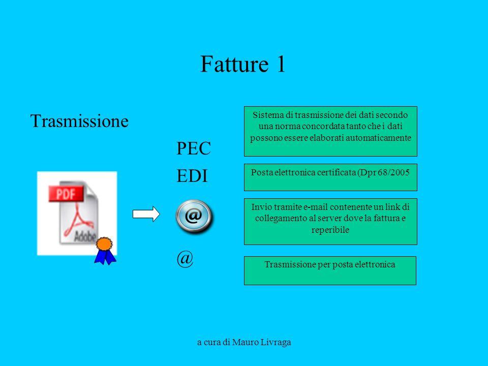 Fatture 1 Trasmissione PEC EDI @