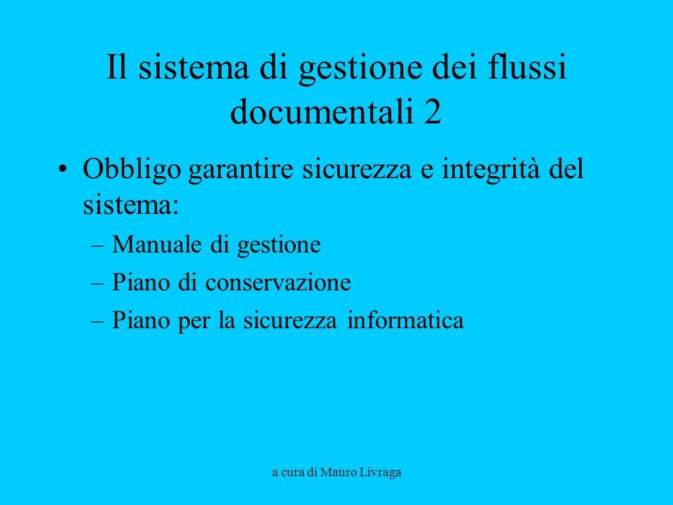 Il sistema di gestione dei flussi documentali 2