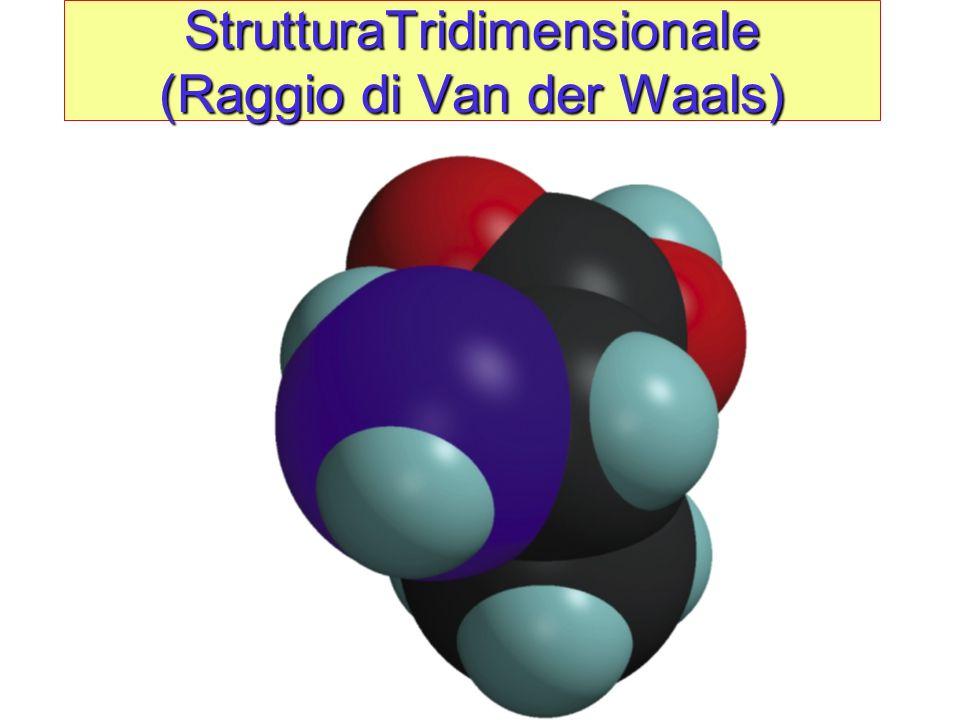 StrutturaTridimensionale (Raggio di Van der Waals)