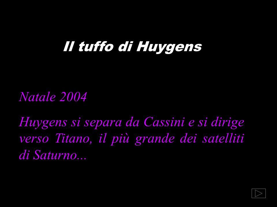 Il tuffo di Huygens Natale 2004.