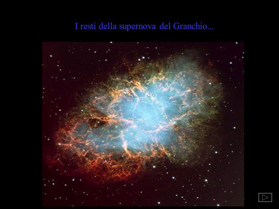 I resti della supernova del Granchio...