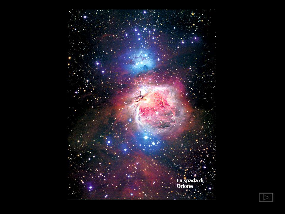 La spada di Orione DOVE NASCONO LE STELLE La spada di Orione