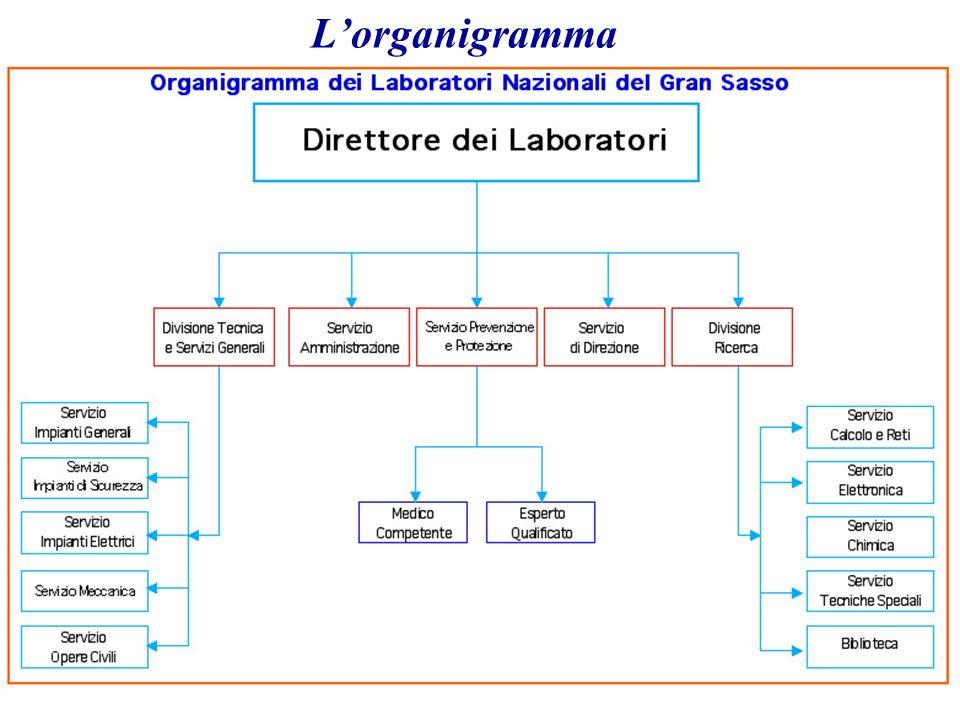 L'organigramma 3/29/2017 A. Bettini. INFN