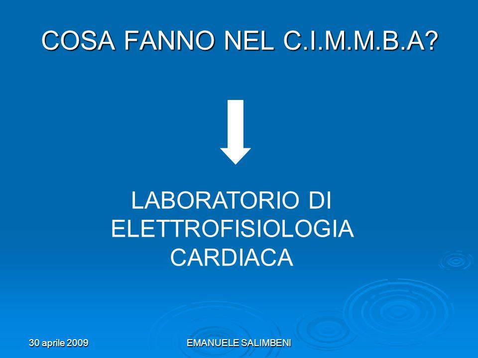 LABORATORIO DI ELETTROFISIOLOGIA CARDIACA