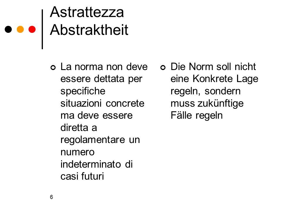Astrattezza Abstraktheit