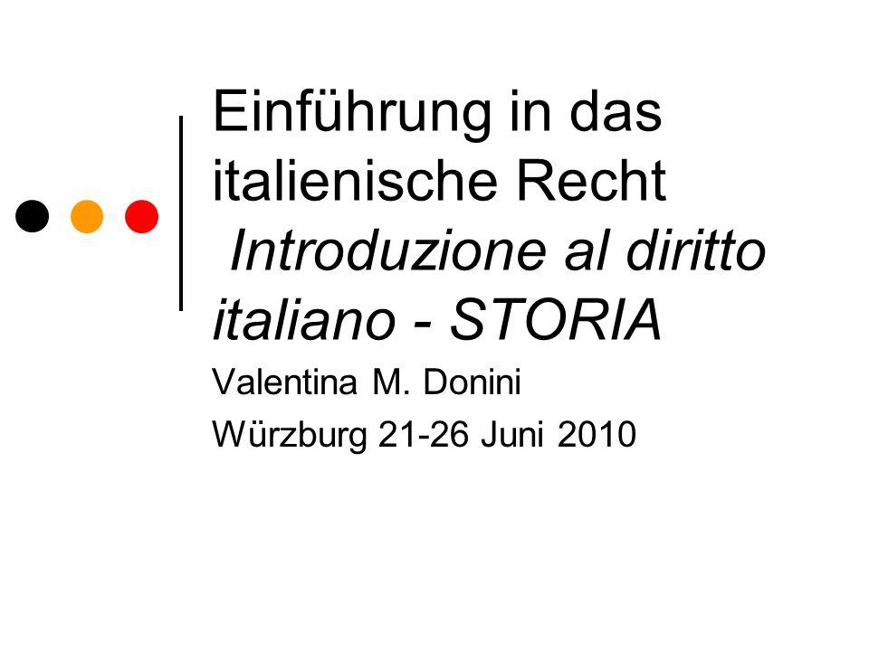Valentina M. Donini Würzburg 21-26 Juni 2010