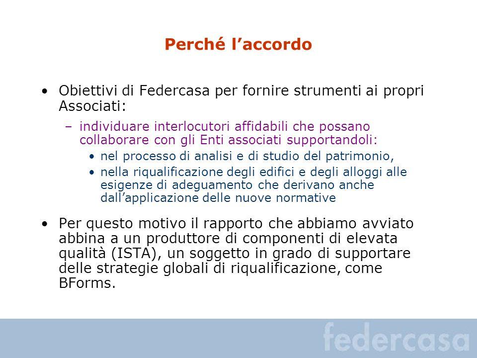 Perché l'accordo Obiettivi di Federcasa per fornire strumenti ai propri Associati: