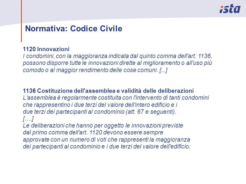 Normativa: Codice Civile