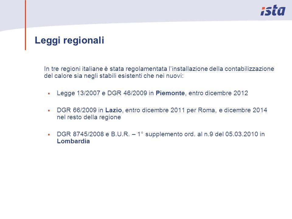 Leggi regionali