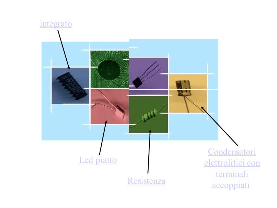 Condensatori elettrolitici con terminali accoppiati