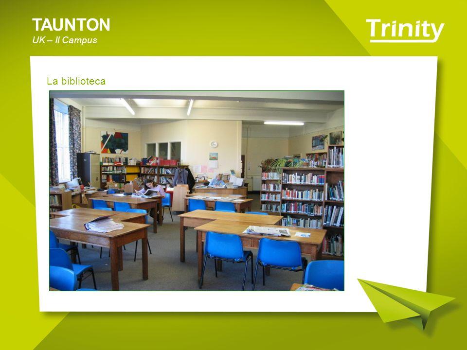 TAUNTON UK – Il Campus La biblioteca
