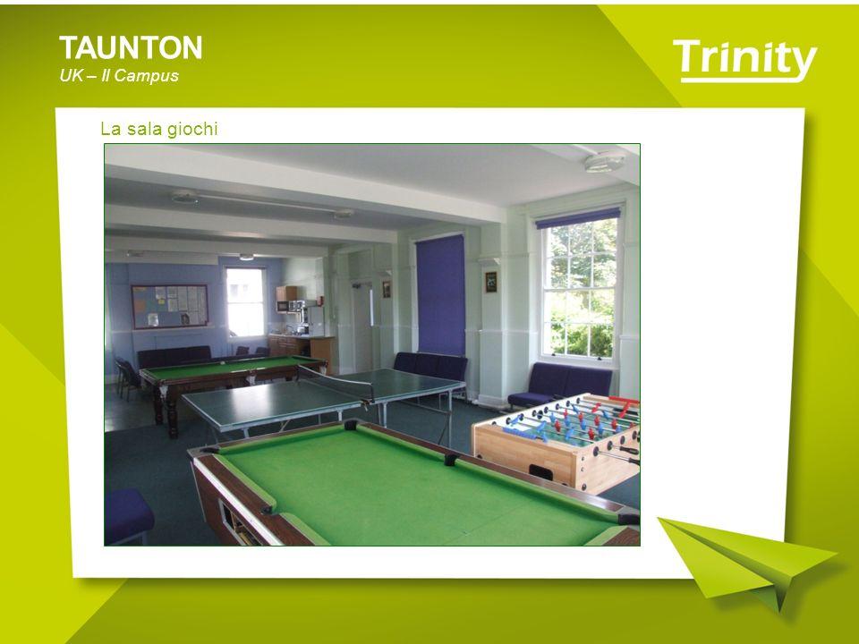 TAUNTON UK – Il Campus La sala giochi