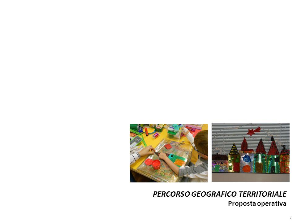 PERCORSO GEOGRAFICO TERRITORIALE