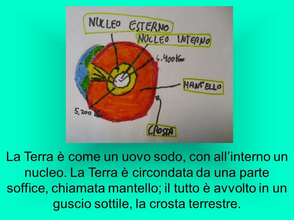 La Terra è come un uovo sodo, con all'interno un nucleo