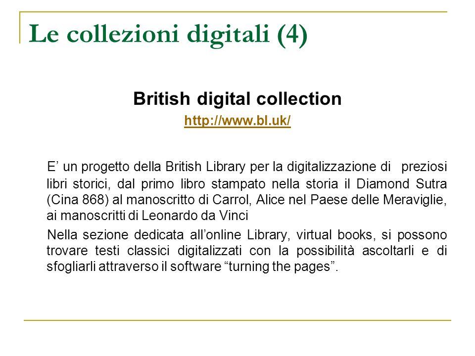 Le collezioni digitali (4)