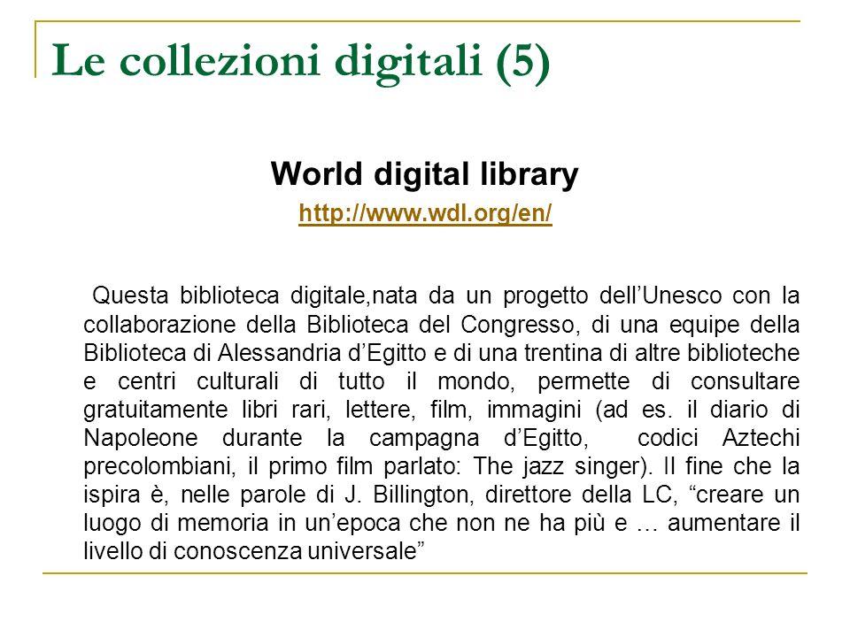 Le collezioni digitali (5)