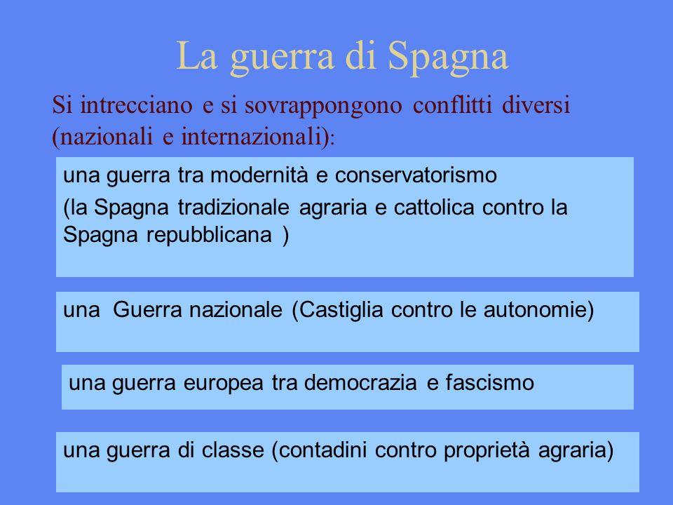 una guerra europea tra democrazia e fascismo