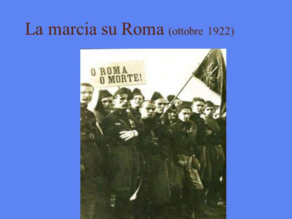 La marcia su Roma (ottobre 1922)