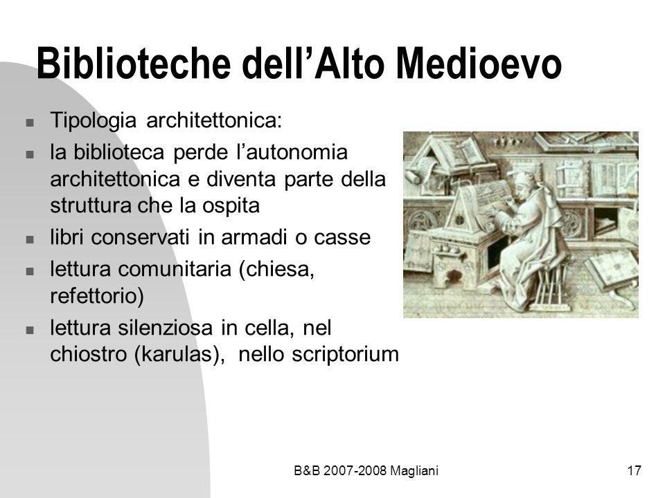 Biblioteche dell'Alto Medioevo