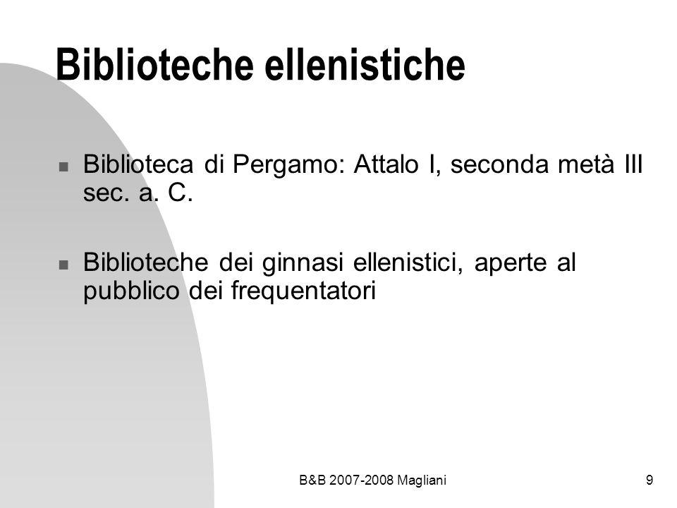 Biblioteche ellenistiche