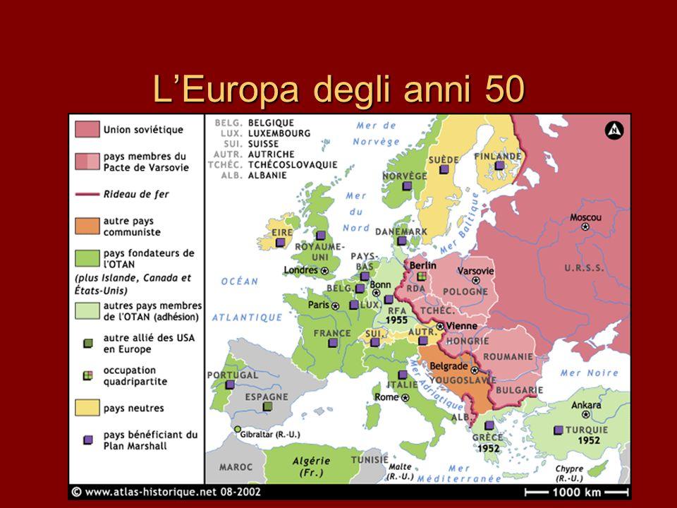 L'Europa degli anni 50