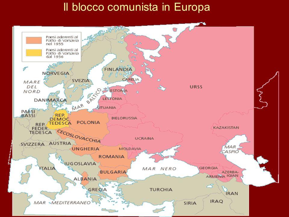 Il blocco comunista in Europa