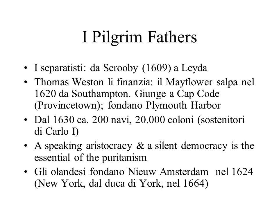 I Pilgrim Fathers I separatisti: da Scrooby (1609) a Leyda