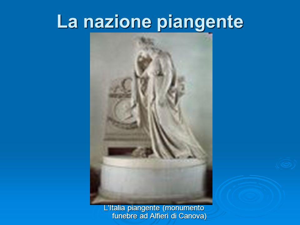 L'Italia piangente (monumento funebre ad Alfieri di Canova)