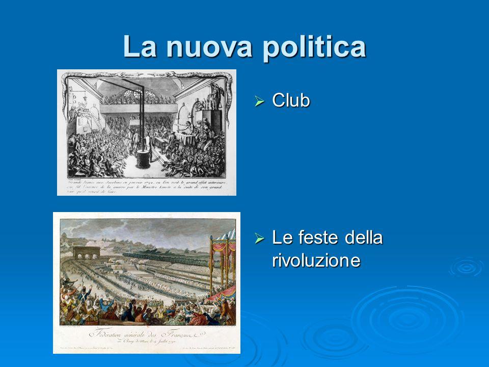 La nuova politica Club Le feste della rivoluzione