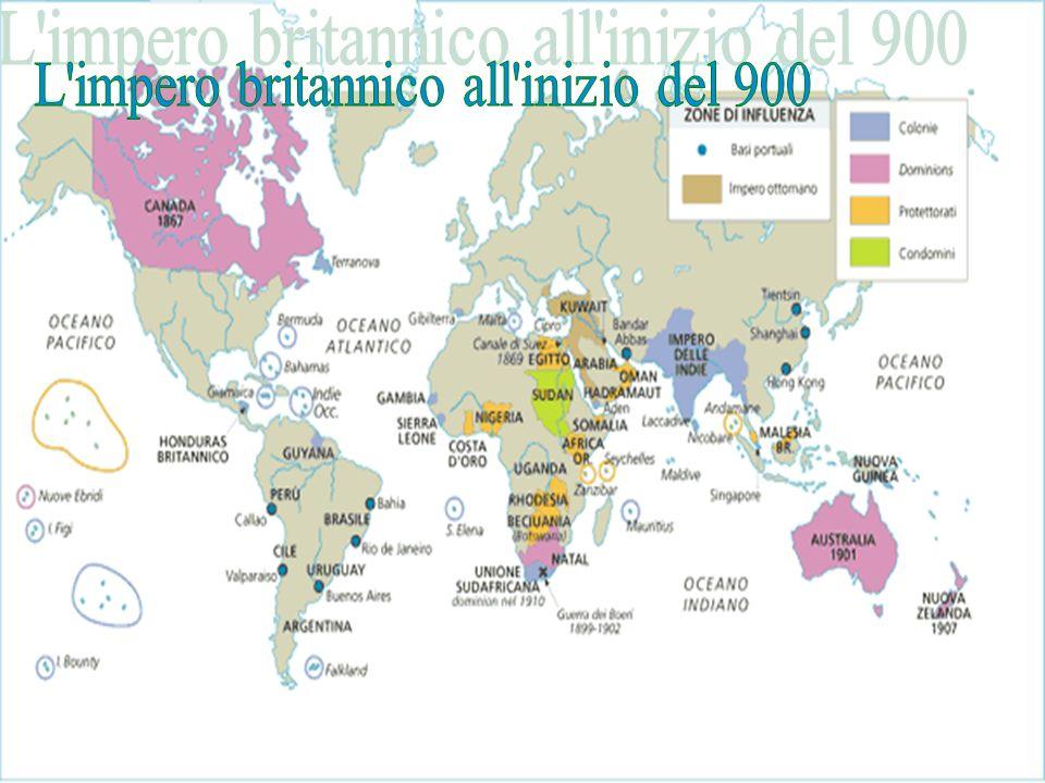 L impero britannico all inizio del 900