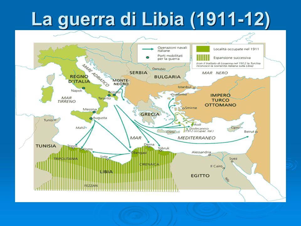 La guerra di Libia (1911-12)