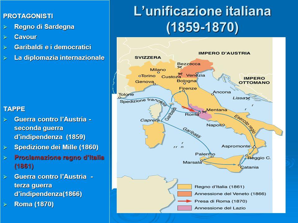 L'unificazione italiana (1859-1870)
