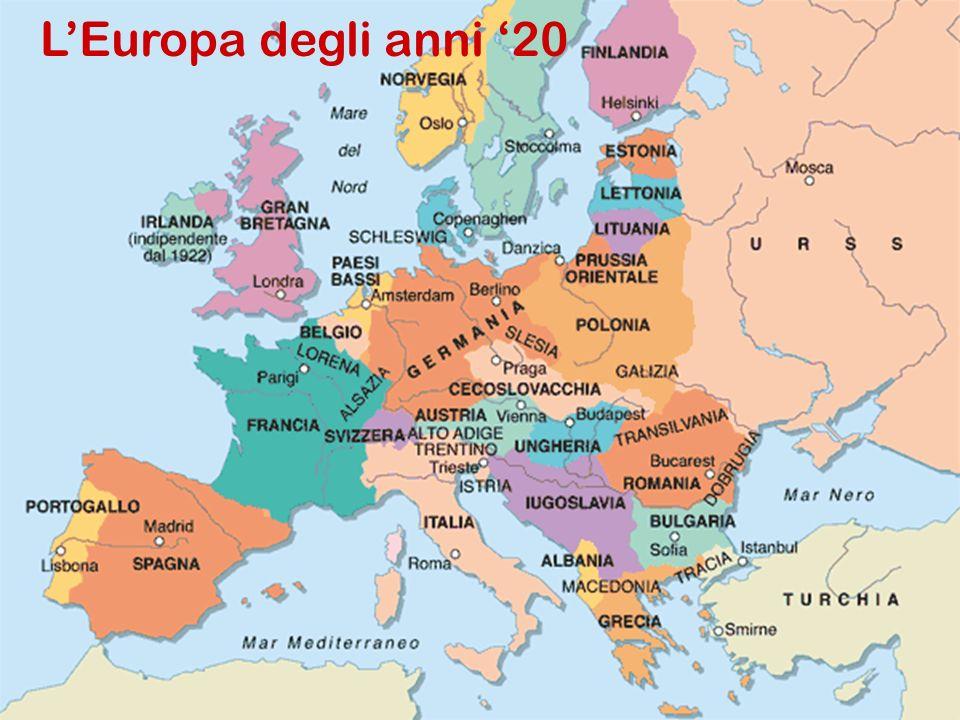 L'Europa degli anni '20