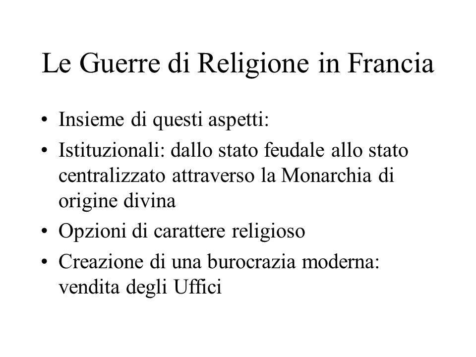 Le Guerre di Religione in Francia
