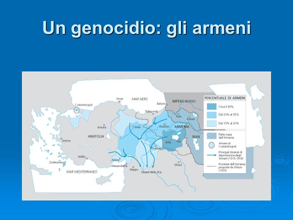 Un genocidio: gli armeni