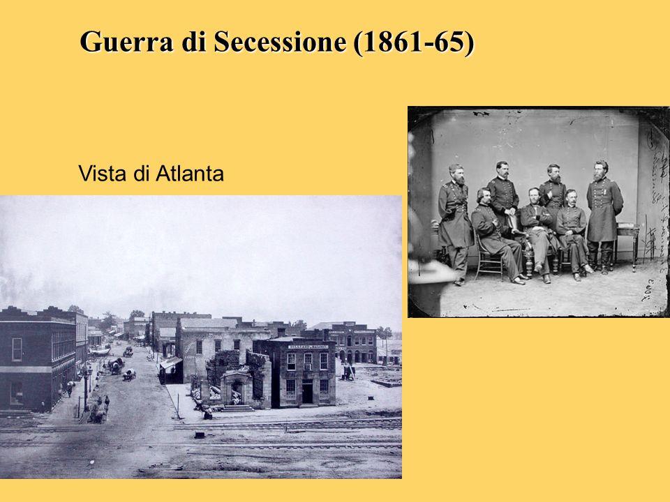 Guerra di Secessione (1861-65)