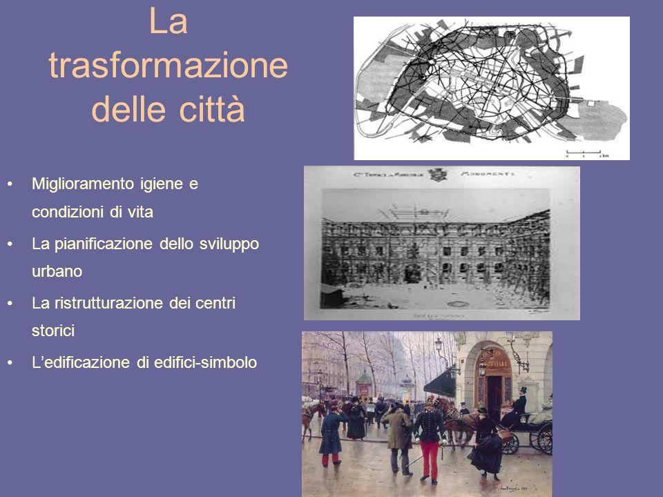 La trasformazione delle città