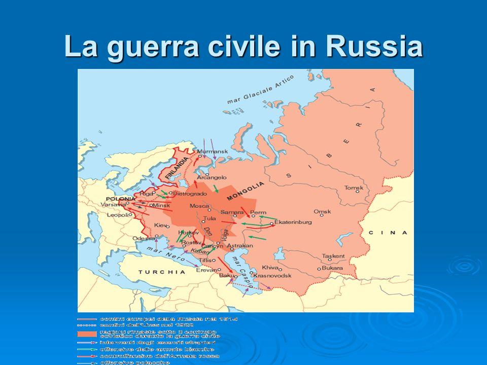 La guerra civile in Russia