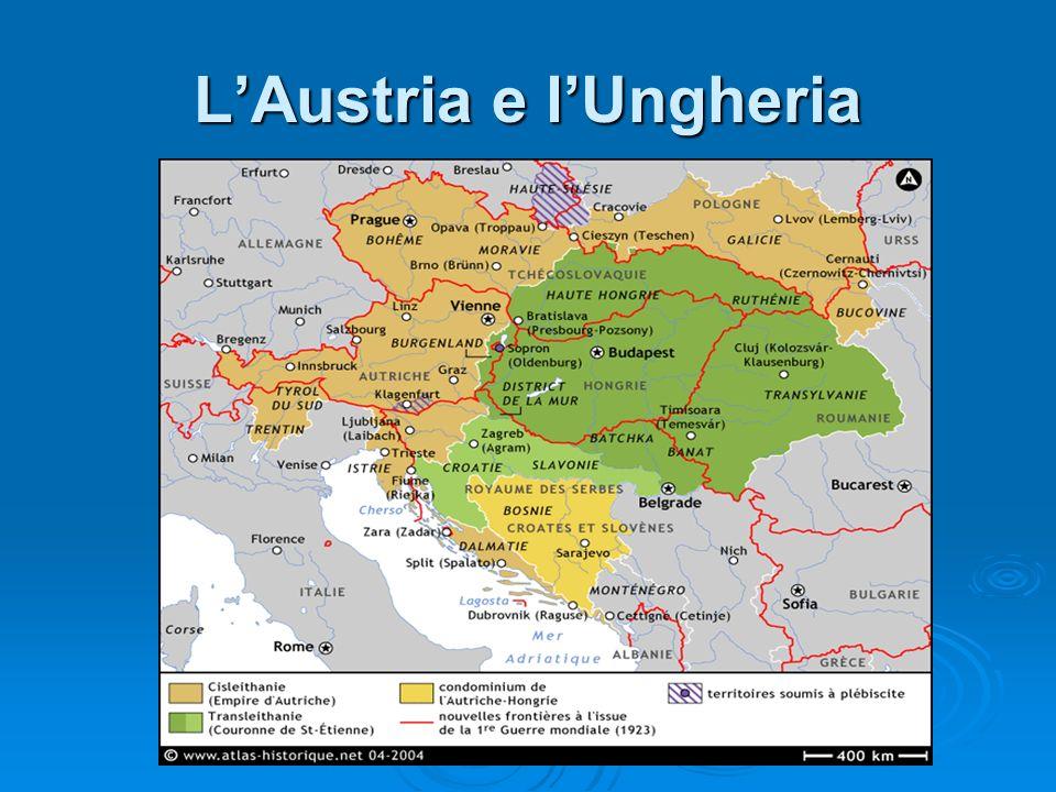 L'Austria e l'Ungheria